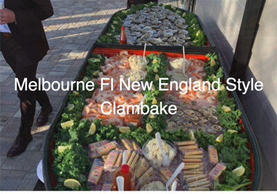 The clam Bake Guys Home Page Image and Text