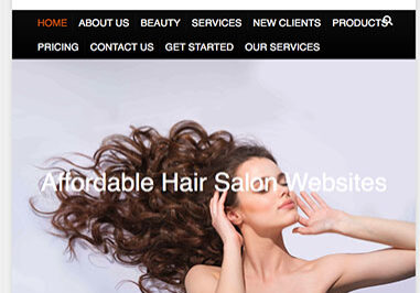 Your Head Quarters For Hair Home Page Image with Text